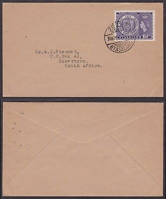 Nyasaland 1953 - Cover to South Africa 23585