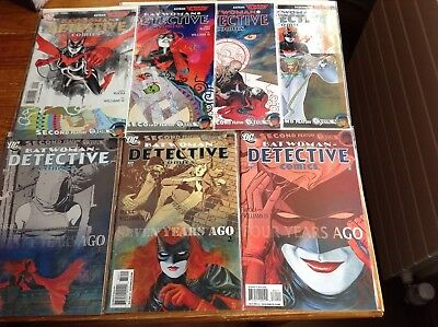 Detective Comics Batman Reborn 854-860. Batwoman. Greg Rucka/j.h.williams Iii