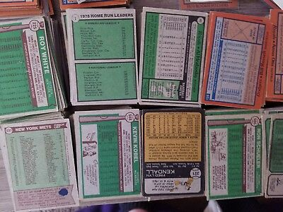 HUGE LOT Vintage Baseball cards Topps 1970's Signed 60's cards for multiple buys