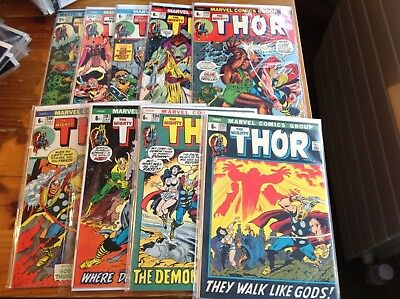 The Mighty Thor. 203, 204, 207, 208, 210, 212, 213, 222, 227. 2Nd Ego Prime.