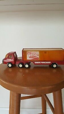 Coca-Cola Buddy L Toy delivery truck.