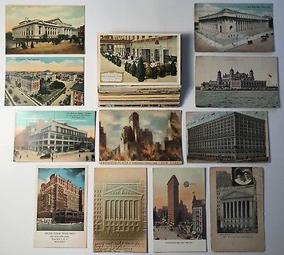 Vintage New York City Themed Postcard Lot of 50 - AWESOME