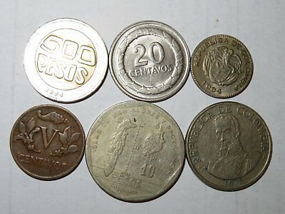 Columbia 6 All Different Coins # 30