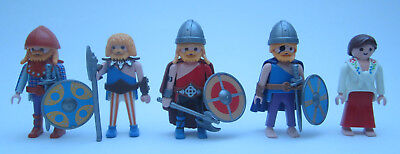 Playmobil 5 x Gallier/ Germanen/ Gegner der Römer 02