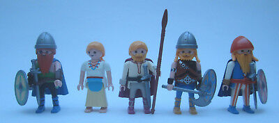 Playmobil 5 x Gallier/ Germanen/ Gegner der Römer 03