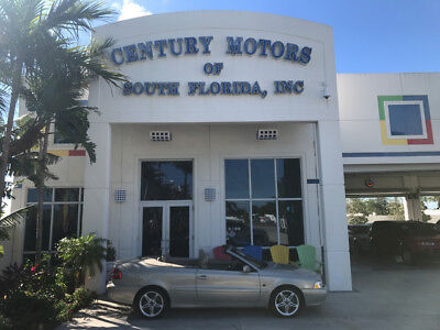 2002 Volvo C70 Base Convertible 2-Door Heated Leather Cruise CD Cassette 1 Owner