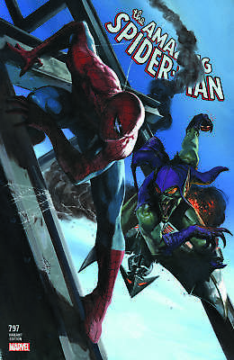 AMAZING SPIDER-MAN 797 GABRIELLE DELL OTTO VARIANT 1st RED GOBLIN GREEN SOLD OUT