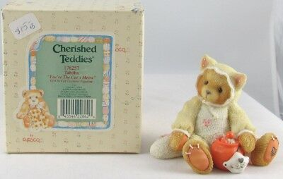Cherished Teddies by Enesco - Tabitha - Girl In Cat Costume  #176257  (1996)
