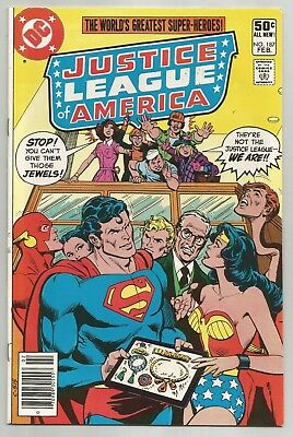 DC Comics Justice League of America #187 Near Mint- (9.2)!