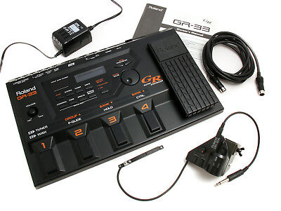 Roland GR33 Guitar Synthesiser with GK-2A Pickup