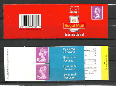 GB 1992 - Booklet  - GD4a - Complete