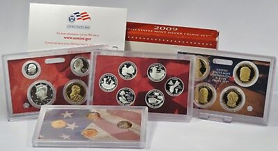 USA 2009 Mint Silver Proof Set