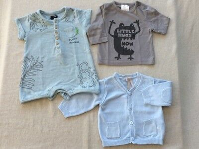 ♥ Lot 3 Pieces Orchestra + Kiabi ♥ Comme Neuf ♥ Taille 1 Mois ♥