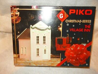 Piko #62202 Village Inn  kit for G scale Railroad-X-mas Series - New with box!--