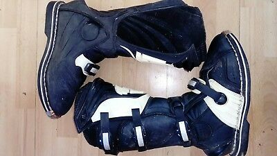 used motocross boots size 10