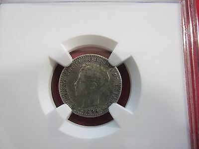 1896 PVG Puerto Rico 10c Silver Coin NGC VF Details