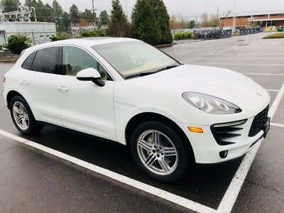 2015 Porsche Macan S Macan S Heated/Cooled Seats Pano Roof