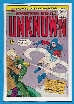 Adventures Into The Unknown #156_April/may 1965_Very Good Minus_Silver Age Acg!