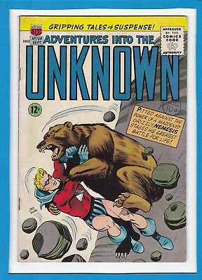 Adventures Into The Unknown #159_September 1965_Fine+_Silver Age Acg!