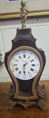 antique vintage french clock zenith