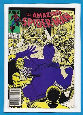 Amazing Spider-Man #247_December 1983_Near Mint Minus_Thunderball_Bronze Age!