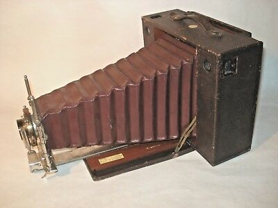 KODAK #5  Model E Cartridge CAMERA w/ B&L LENS 5x7