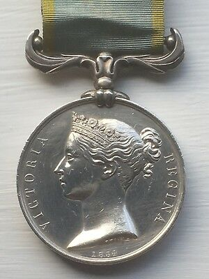 Crimea medal 1854 - 1856 - Unnamed as issued to Royal Navy / Royal Marines