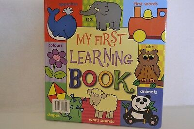 My first learning book, toddlers book