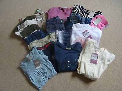GIRLS Clothes Bundle Age 5 years (16 Items) BNWT & Used - Mostly NEXT