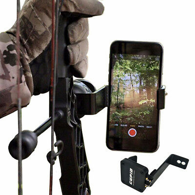 Smartphone Phone Stand Holder Bracket Bow Mount For Compound Recurve Bow Hunting