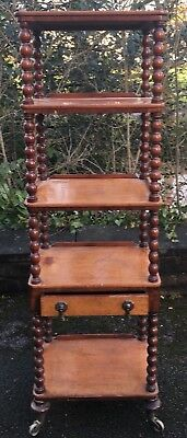 Antique Victorian/Edwardian Whatnot Display Stand