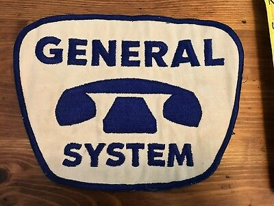 Vintage Large General System Telephone Tech Patch