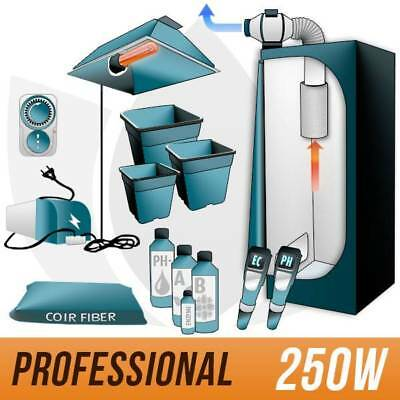 *kit In Cocco 250W + Grow Box Completa - Pro