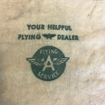 Vintage Flying A Service Towel RARE!!!
