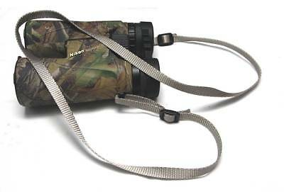 "Binocular / Telescope Shoulder/Neck STRAP ""Metallic Gray"""