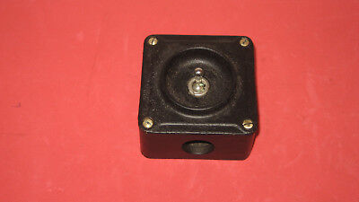 Vintage Industrial Light Switch by Crabtree