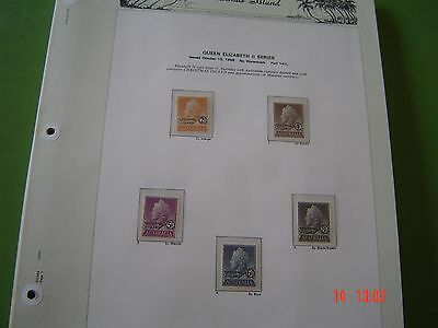 Christmas Island On Pages 1958 thru to 1994 Not Totally Complete, Missing some s