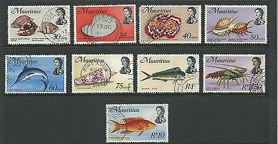 1969 Marine Life Part set of 9 Good to Fine Used As Per Scan