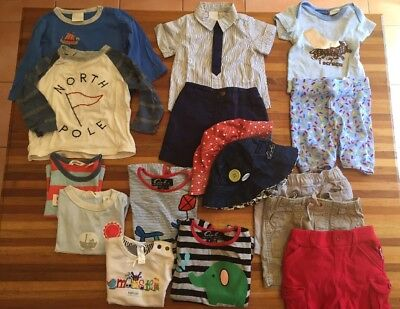 Bulk Baby Boy Clothing - Country Road, Oobi, Seed, Peter Alexander. Size 000-1.