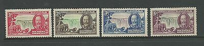 1935 The 25th Anniversary of the Reign of King George V set 4 Mint Hinged
