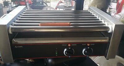 Adcraft RG-09 Hot Dog / Sausage / Grill / Roller / Cooker / 9 Rollers
