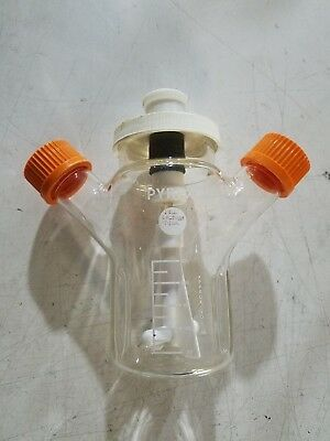 Corning Pyrex Glass 250mL ProCulture Baffled Magnetic Mixing Spinner Flask