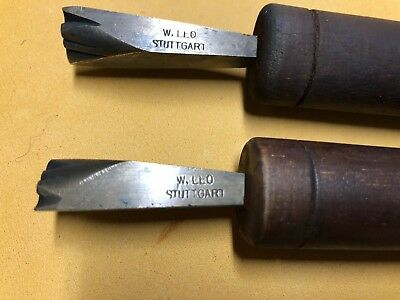 Antique Bookbinding Leather Gilding Finishing Tool Stamps