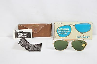 NEW NOS Bausch & Lomb Bushnell Shooting Sunglasses glasses Lenses Aviator