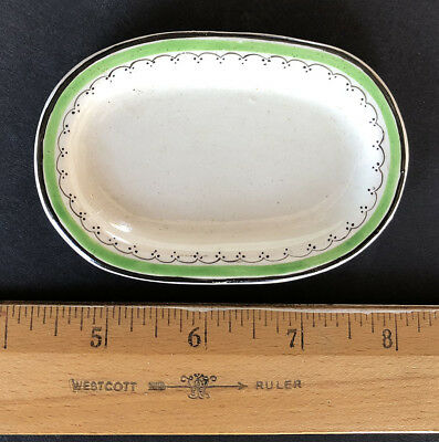 Rare English CHILD'S TOY DINNER PLATTER, Staffordshire, (WEDGWOOD) 1800 - 1820