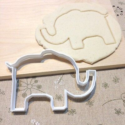 Elephant Cookie Cutter - Fondant Cake Cupcake Topper Animal Circus Zoo Jungle