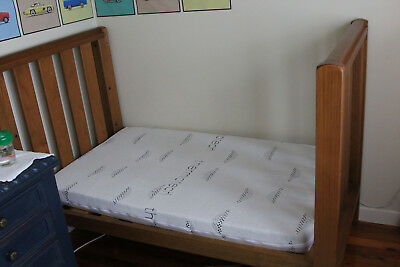 100% Natural Latex Boori Size Cot Mattress - No fillers, synthetics or chemicals