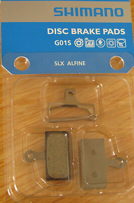 Shimano Disc Brake Pads Resin G01S SLX Alfine
