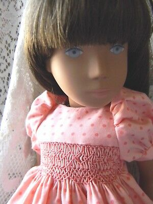 Sweet Smocked Dress for a Sasha  Doll.........by lkb