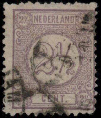1876 NETHERLANDS SC#37c USED CV$ *FREE SHIPPING*